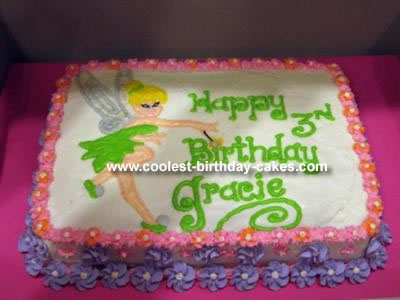 Pictures Of Tinkerbell Parties. Tinkerbell 21, Tinkerbell Cake