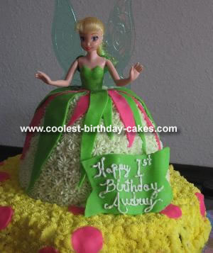 Audrey's Tinkerbell Cake