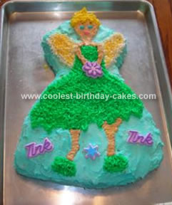 Coolest Tinkerbell Cake 37
