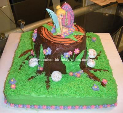 Pictures Of Tinkerbell Parties. Coolest Tinkerbell Cake 53
