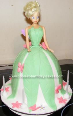 how to make tinkerbell out of fondant