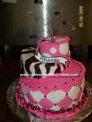 Coolest Topsy Turvy Birthday Cake 12. by Codi W. (Cherokee, OK)