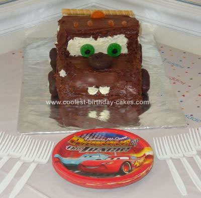 Coolest Tow Mater Birthday Cake 30
