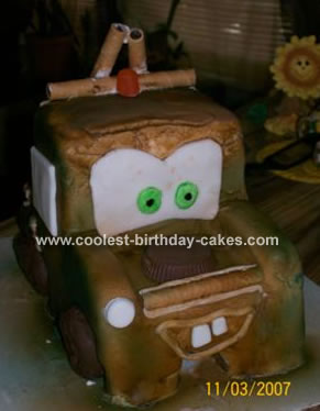 Coolest Tow Mater Cake 14