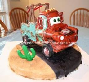 HomemadeTow Mater Cake