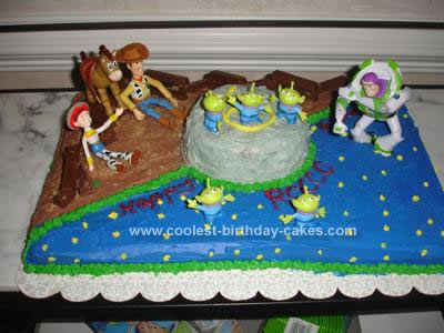 Story Birthday Cake On Coolest Toy Design 36