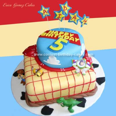 Birthday Cake Picture on Coolest Toy Story Birthday Cake Design 51