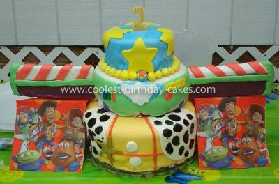 Coolest Toy Story Cake