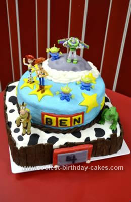 Walmart Bakery Birthday Cakes on Coolest Toy Story Cake 82