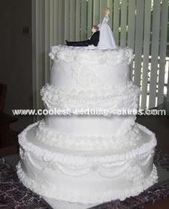 Traditional Homemade Wedding Cake