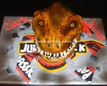 Dinosaur Birthday Cake on Coolest Trex Dinosaur Birthday Cake 80