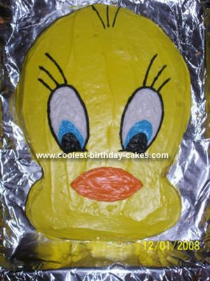 Coolest Tweety Bird Cake 6