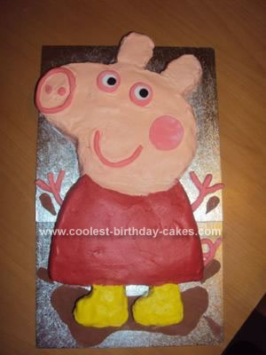 Easy Peppa Pig Cakes To Make