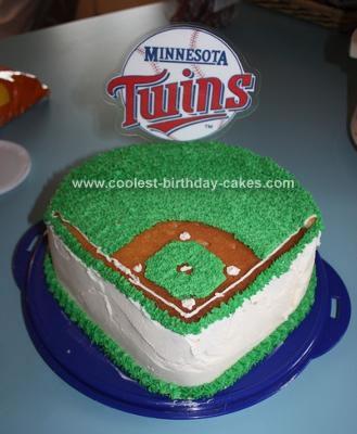 Twins Baseball Cake
