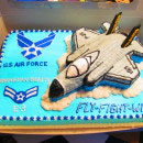 Fighter Jets and Military Planes Birthday Cakes