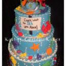 Under the Sea Scene Birthday Cakes