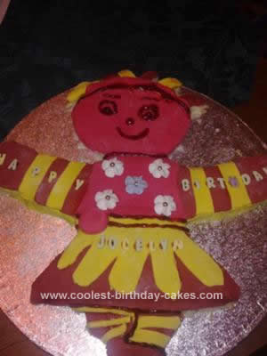 Coolest Upsy Daisy Birthday Cake 14