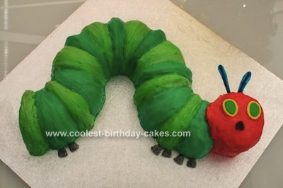 Coolest Very Hungry Caterpillar Birthday Cakes
