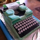 Typewriters Birthday Cakes