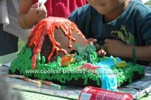 Coolest Volcano Cake 32