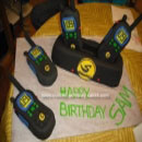 Walkie Talkies Birthday Cakes