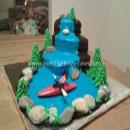 Kayaking Birthday Cakes