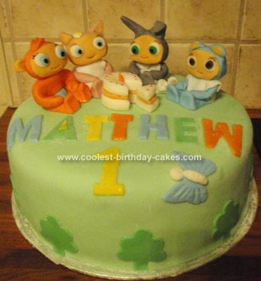 Homemade Waybuloo Birthday Cake Idea