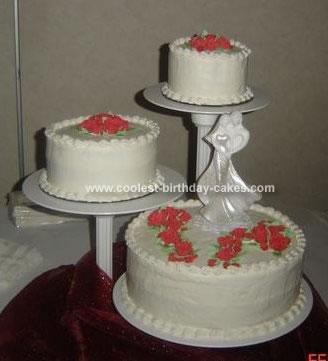 creative homemade wedding cakes