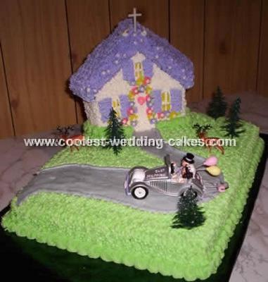 Coolest Wedding Scene Cake