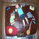 Weightlifting Birthday Cakes