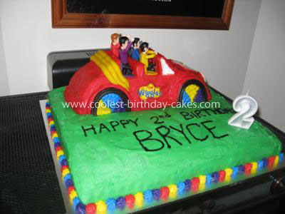 Coolest Wiggles Big Red Car  Cake