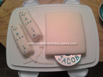 Homemade Wii Cake