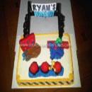 Wipeout Birthday Cakes