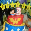Wonder Woman Birthday Cakes