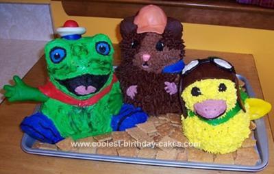 Homemade Wonderpets Cake