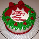 Wreath Birthday Cakes