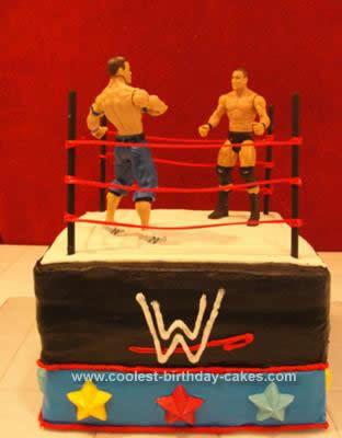 Wrestling Cakes 3
