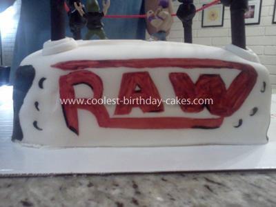 Coolest WWE Raw Birthday Cake