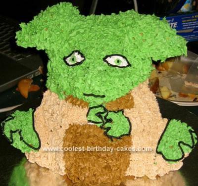 Yoda Cake Pan Wilton