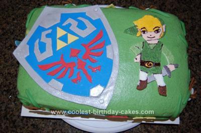 Zelda Ocarina Of Time Birthday Cake
