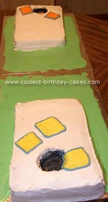 Cornhole Birthday Cake
