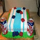 Cornhole Birthday Cakes