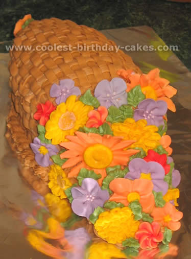 Coolest Cornucopia Cake Ideas Photos And How To Tips