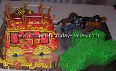 Cowboy Birthday Cake Photo