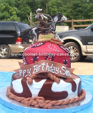 Cowboy Birthday Cake Cowboy Birthday Cake Ideas