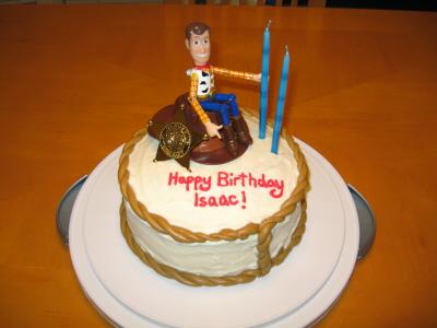 Cowboy Woody Cake