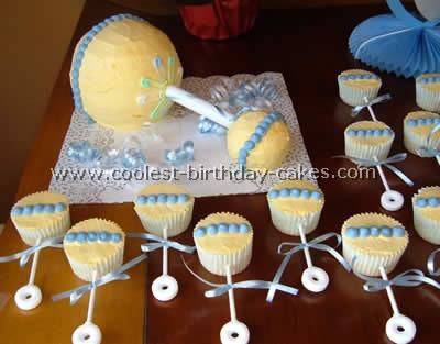 Creative Baby Shower Cakes