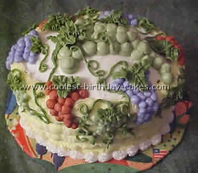 Coolest Fruit Shaped Creative Cakes