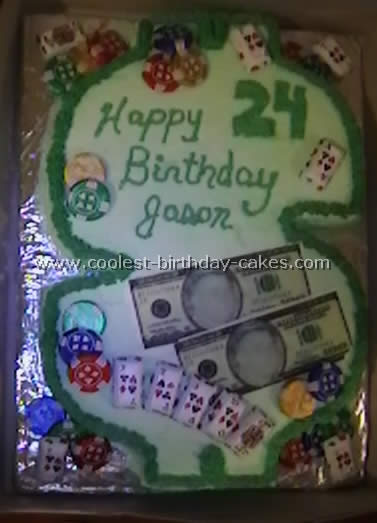 Coolest Homemade Money and Coins Cakes