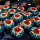 Patriotic Cupcakes Birthday Cakes